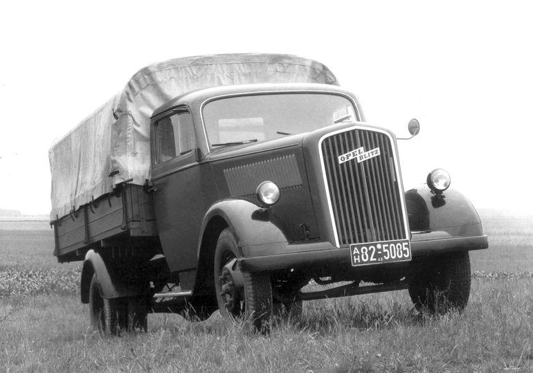 Opel Blitz ma już 90 lat. Poznajcie historię sukcesu, który trwa do dziś