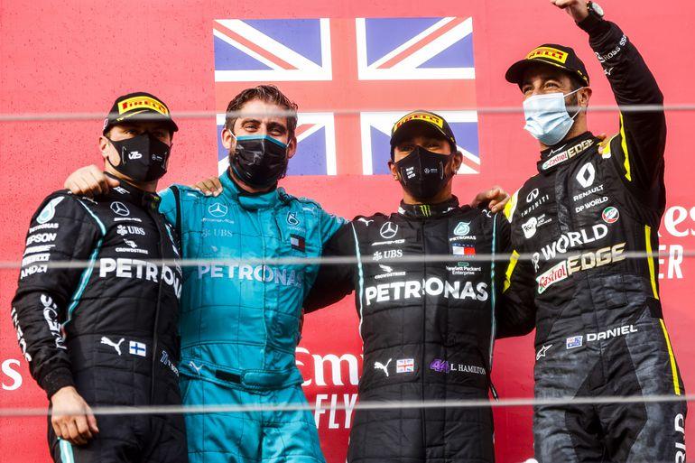 GP Emilii Romanii: Mercedes zdobywa mistrzostwo świata siódmy raz z rzędu