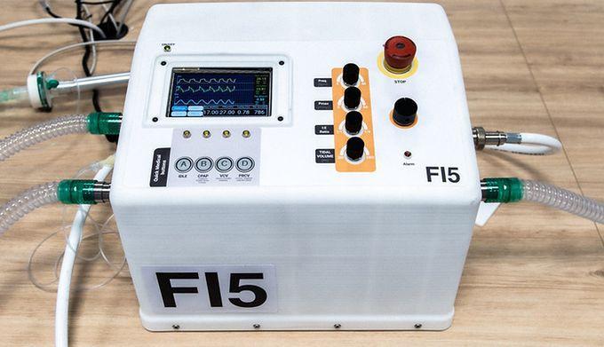 Respirator stworzony przez Ferrari