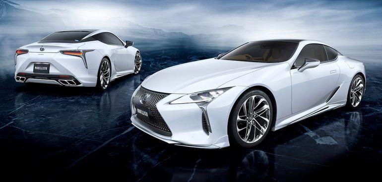 Lexus LC po delikatnym tuning Modellista. Pakiet modyfikacji warty 67 tysięcy złotych - warto?