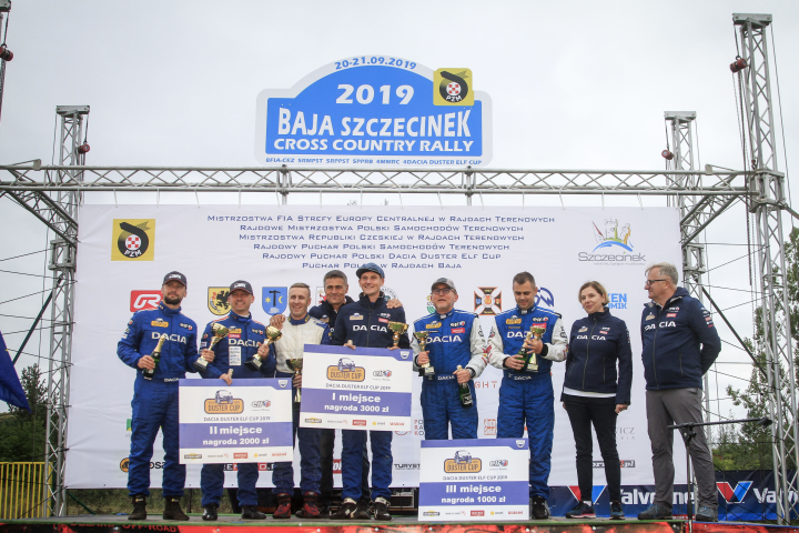 Marcelina Zawadzka i Pascal Brodnicki wystartują w Dacia Duster Motrio Cup