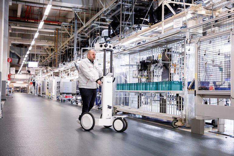 Audi e-tron GT - pierwszy samochód marki, którego produkcja została zaplanowana cyfrowo