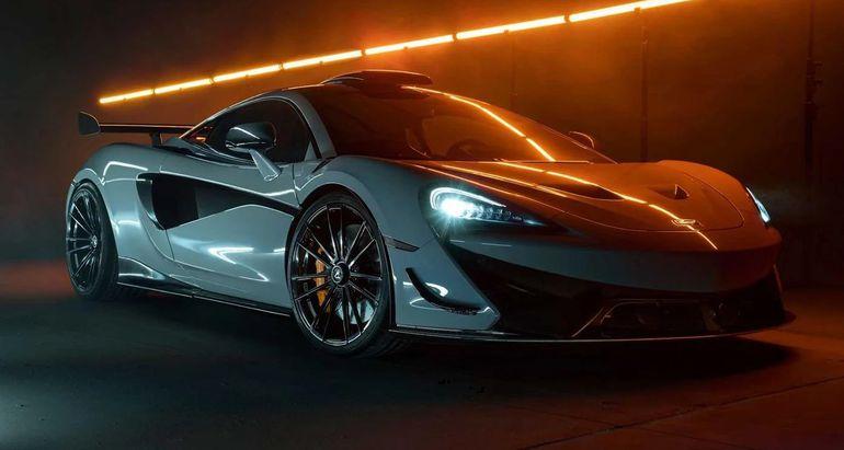 McLaren 620R po kuracji w warsztacie Novitec - drogowa bestia do setki dojeżdża w 2,8 sekundy!