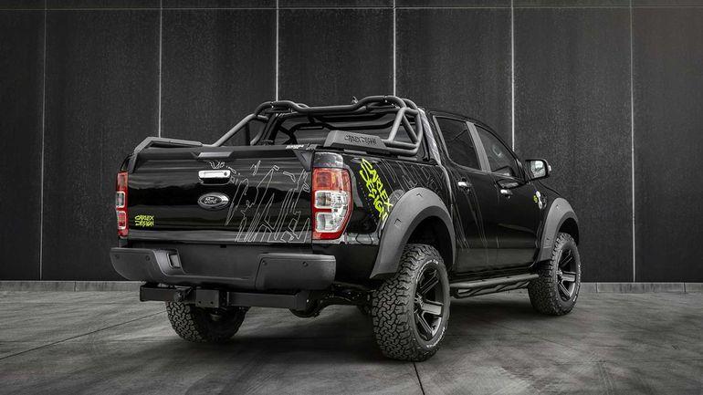 Ford Ranger po tuningu od Carlex Design to prawdziwy wojownik