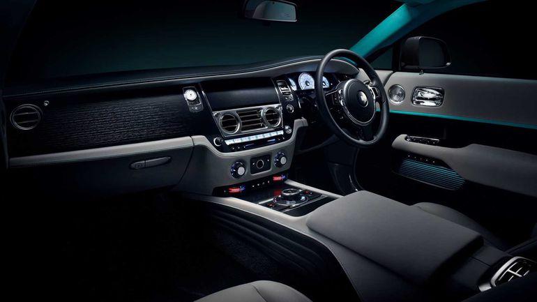 Rolls-Royce Wraith w tajemniczej, limitowanej wersji Kryptos Collection