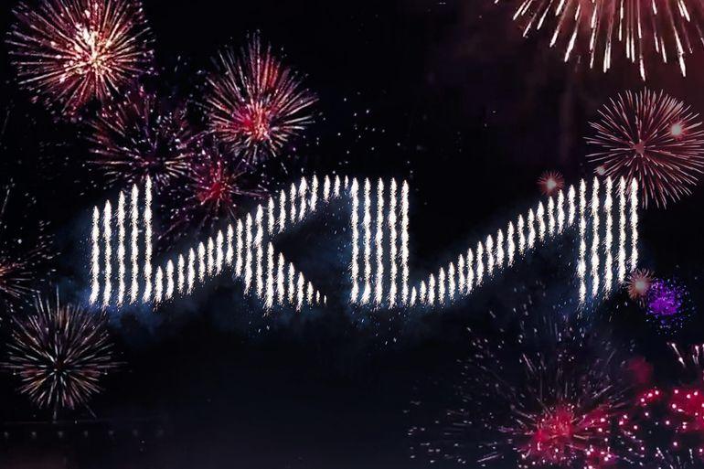 Kia zaprezentowała nowe logo oraz motto podczas rekordowego pokazu pirotechnicznego