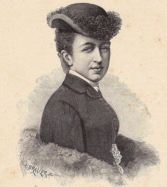 Księżna Uzès w 1896 roku