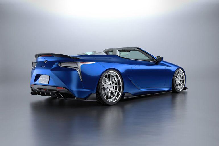 Lexus LC Convertible w karbonie. Ile kosztuje pakiet modyfikacji od tunera Artisan Spirits?