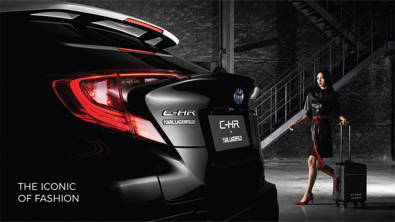 Modna Toyota C-HR od Karla Lagerfelda. Szkoda, że dostępna tylko w Tajlandii