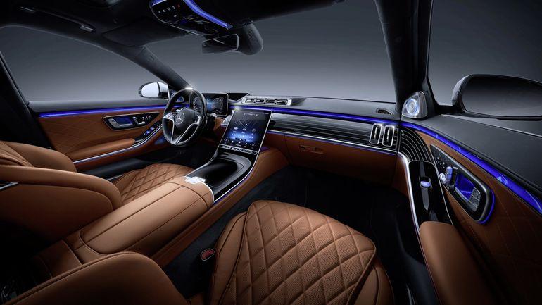 Nowy Mercedes-Benz Klasy S: wnętrze może być takie jak lubisz, dzięki nastrojowemu oświetleniu