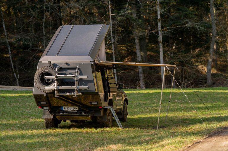 Toyota Land Cruiser 100 - kamper stworzony do długich podróży