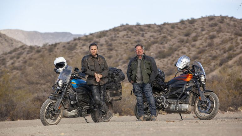 """Long Way Up"" – nowe motocyklowe show z Ewanem McGregorem i Charleyem Boormanem!"