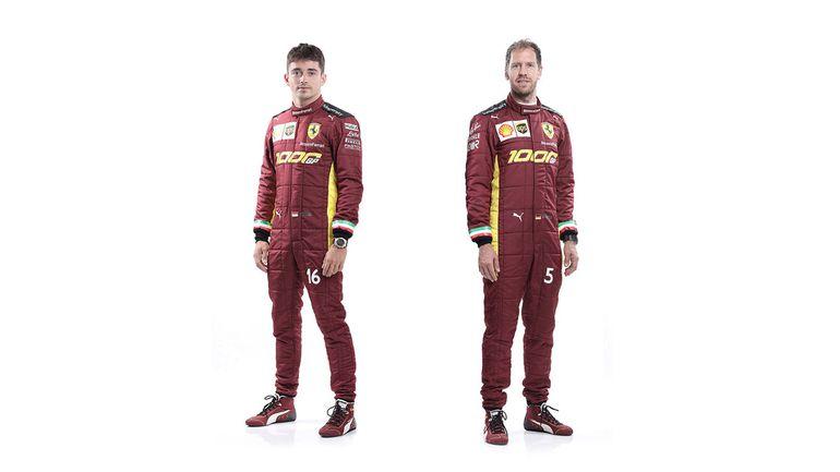 Specjalne malowanie bolidu Ferrari z okazji tysięcznego Grand Prix w Formule 1
