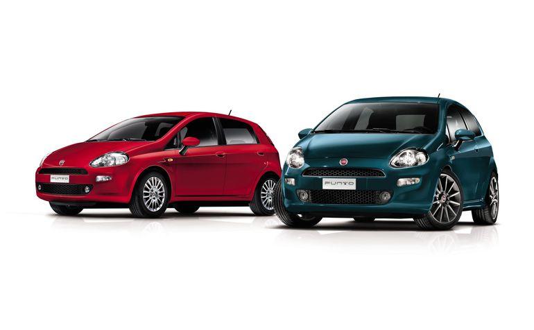 Fiat Punto MY2012 - wersje