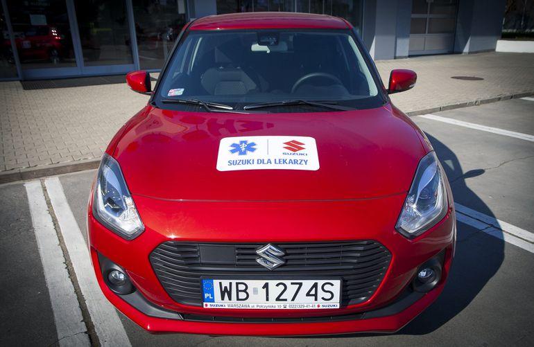 Suzuki wspiera w walce z koronawirusem warszawski szpital