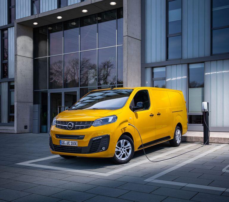 Opel Vivaro-e – elektryczny furgon już w sprzedaży w Polsce