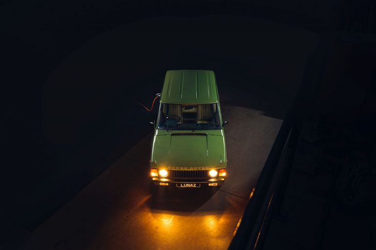 Elektryczny Range Rover od Lunaz