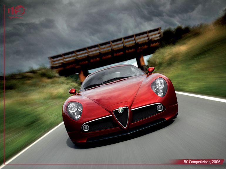 Alfa Romeo 8C. To właśnie ten model Jeremy Clarkson nazwał