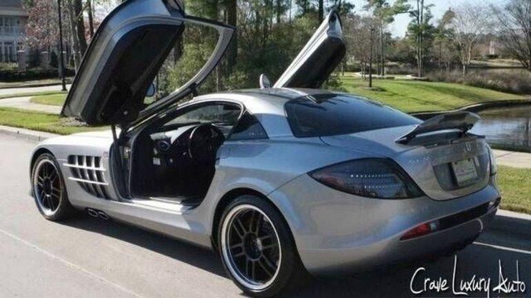 Mercedes SLR McLaren, należący do Michaela Jordana