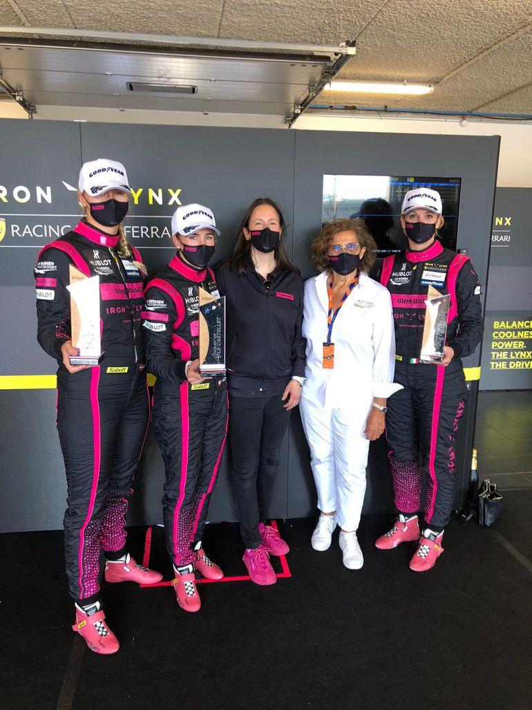 Świetne starty Calderón i Iron Dames w European Le Mans Series