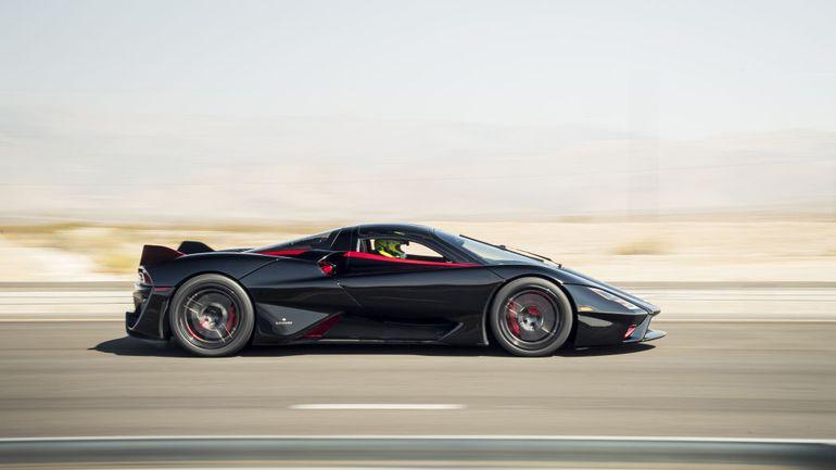 SSC Tuatara najszybszym samochodem na świecie