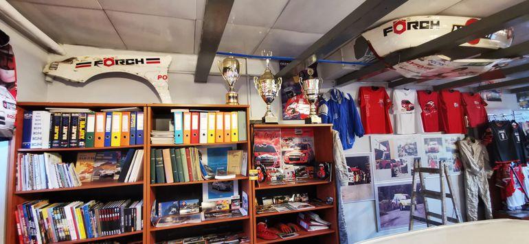 Rally Fan Center - w Łapanowie powstało muzeum rajdowe ku pamięci mistrzów