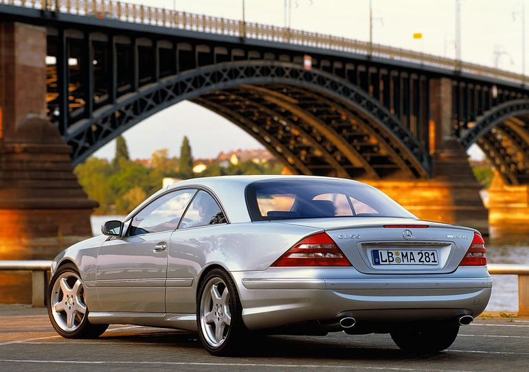 Mercedes Benz CL 55 AMG F1