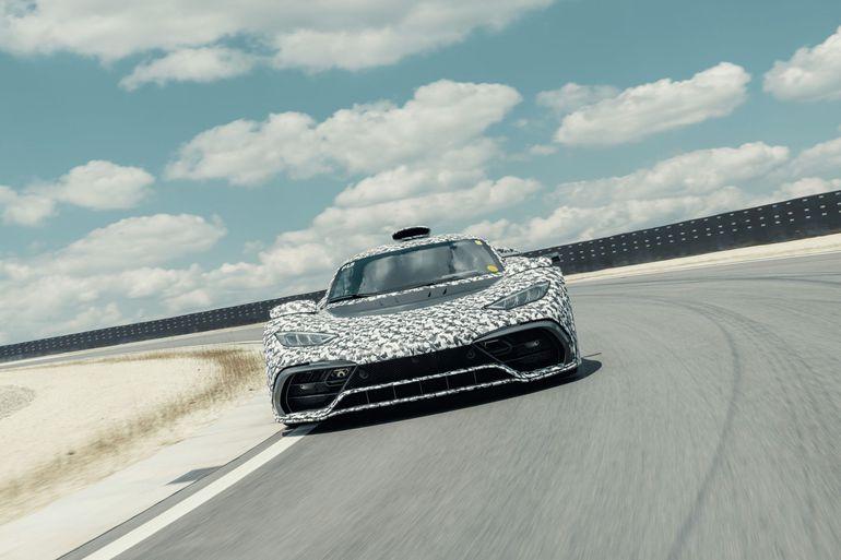 Mercedes-AMG Project ONE – testy osiągnęły właśnie niezwykle ekscytującą fazę
