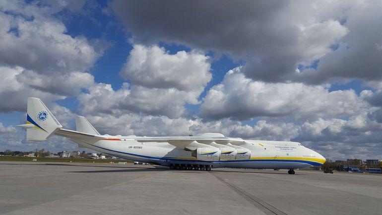 Antonow An-225 Mrija wylądował w Polsce. Transport z pomocą medyczną do walki z epidemią COVID-19