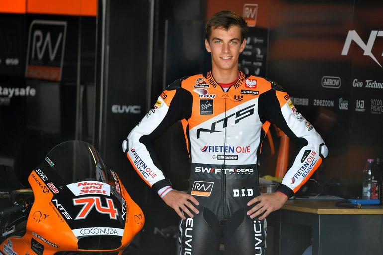 Piątkowe postępy Piotra Biesiekirskiego w motocyklowych MŚ Moto2