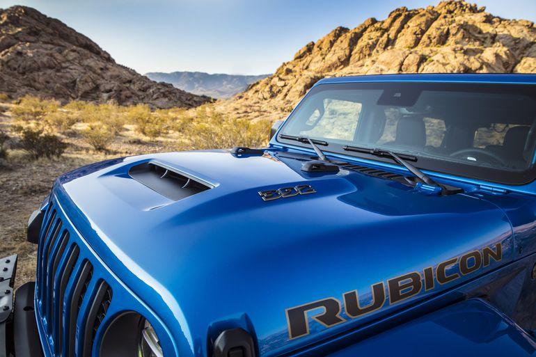 Jeep Wrangler Rubicon 392 - V8 pod maską tego terenowego