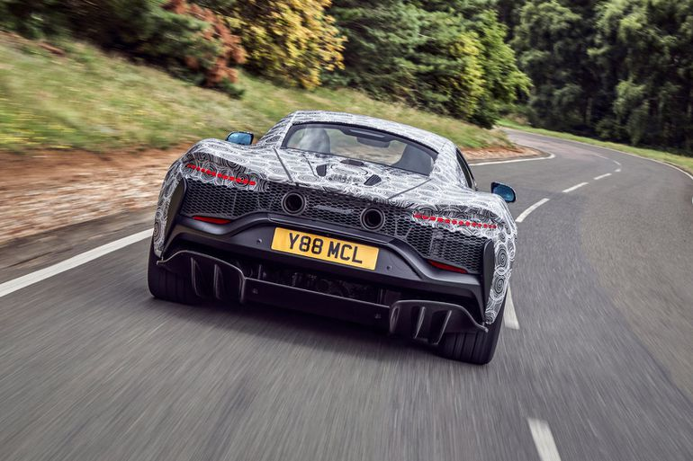 Pierwszy supersamochód McLarena z napędem hybrydowym