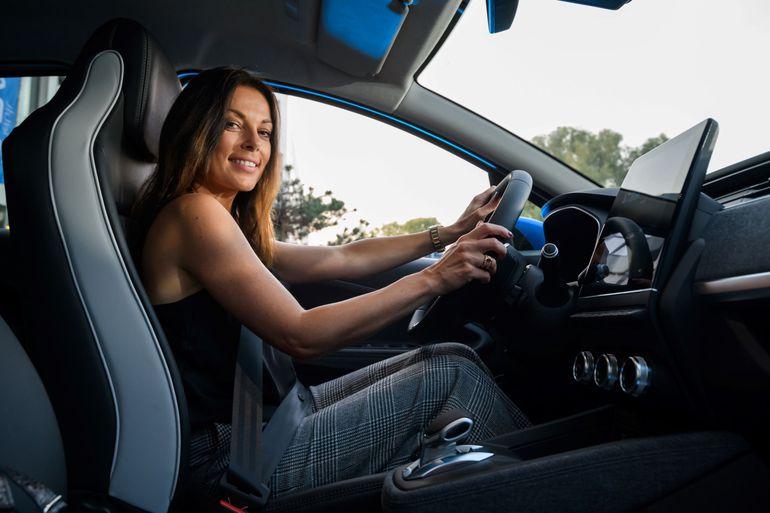 Anna Dereszowska i Katarzyna Glinka testowały gamę hybryd i samochodów elektrycznych Renault
