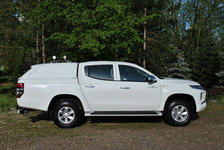 Mitsubishi dostarczy 130 pickupów L200 dla PKP