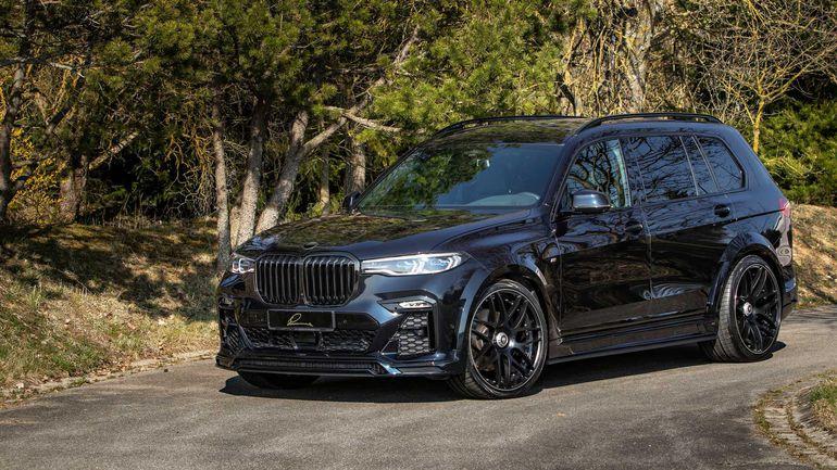 BMW CLR X7 - drapieżny tuning od Lumma Design.