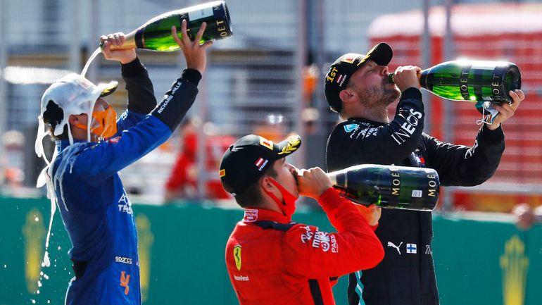 GP Austrii: Bottas wygrywa pełen zwrotów akcji wyścig