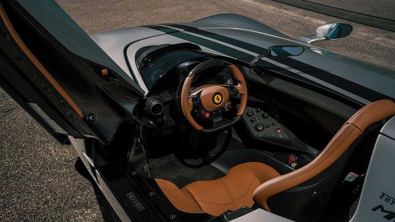 Ferrari Monza po tuningu jest szybkie niczym rakieta SpaceX i do