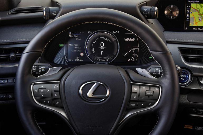 Nowy elektryk Lexus UX 300e