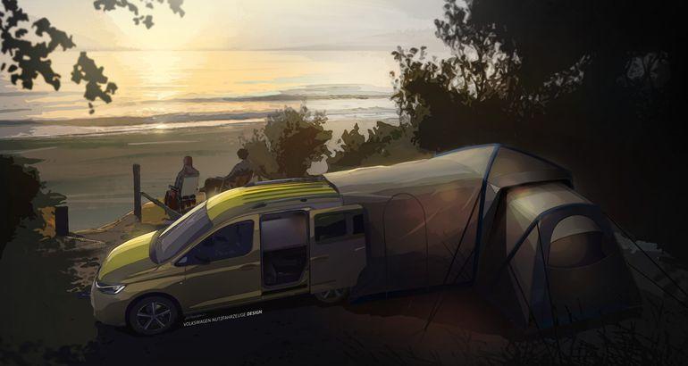 Volkswagen prezentuje pierwsze rysunki nowego mini-kampera. Kiedy premiera?