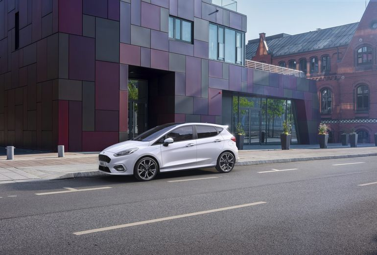 Ford Fiesta w odświeżonej wersji zyskał technologię mild hybrid