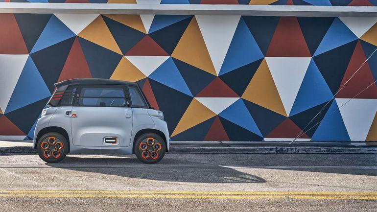 Citroen Ami – plastikowy samochód dla 14-letnich kierowców