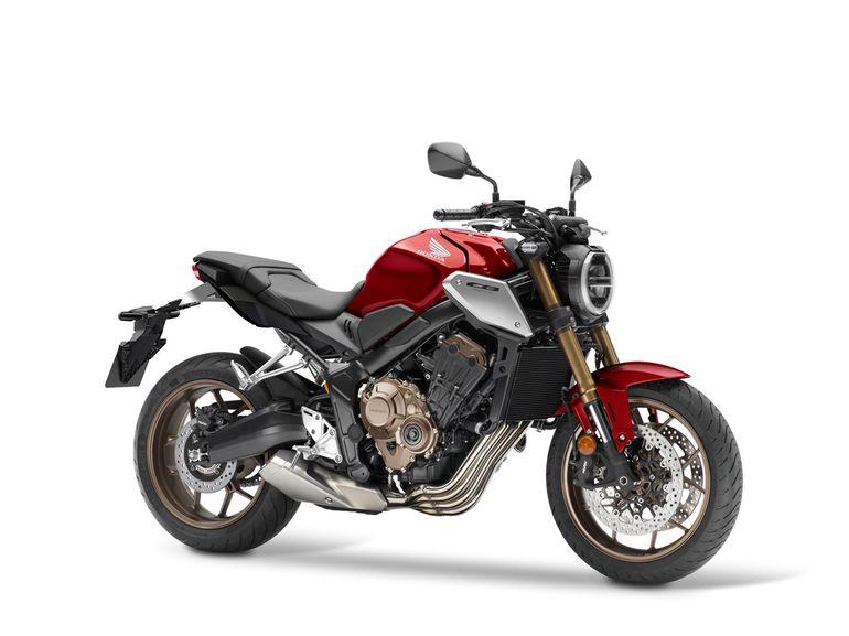 Honda CB650R 2021 - stylowy cafe racer odświeżony. Dane techniczne