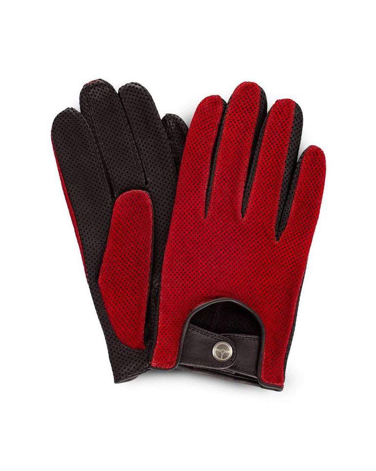 Luksusowe rękawiczki samochodowe