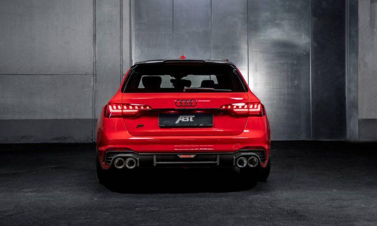 Audi ABT RS4-S - seryjne RS4 było za wolne dla niektórych. Po tuningu