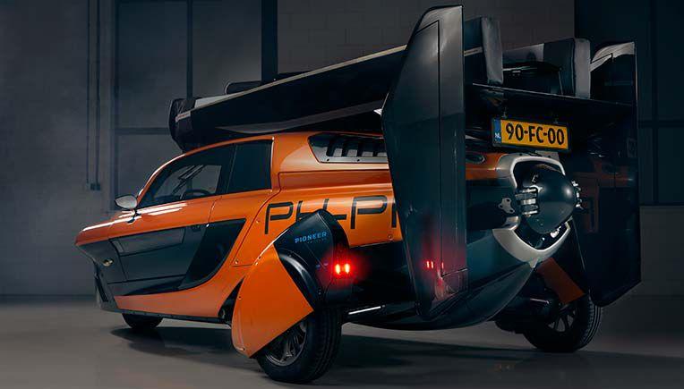 Liberty Pal-V - latający samochód otrzymał europejską homologację uliczną!