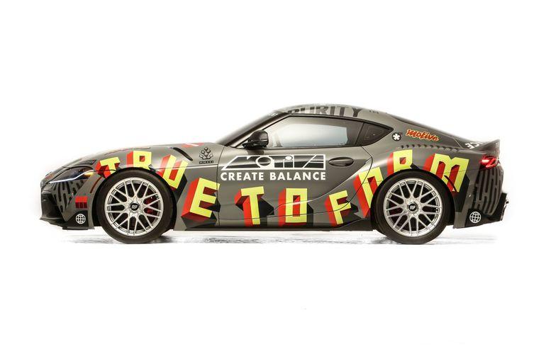 Targi SEMA360: co łączy Toyotę Suprę ze sztuką? Zobaczcie ten ciekawy projekt