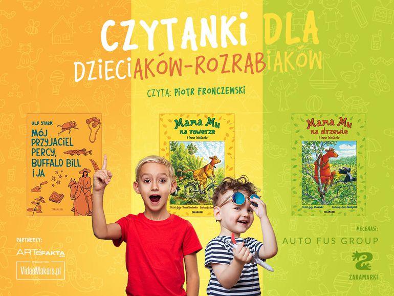 Auto Fus Group, Piotr Fronczewski i Wydawnictwo Zakamarki robią prezent dla dzieci i ich rodziców