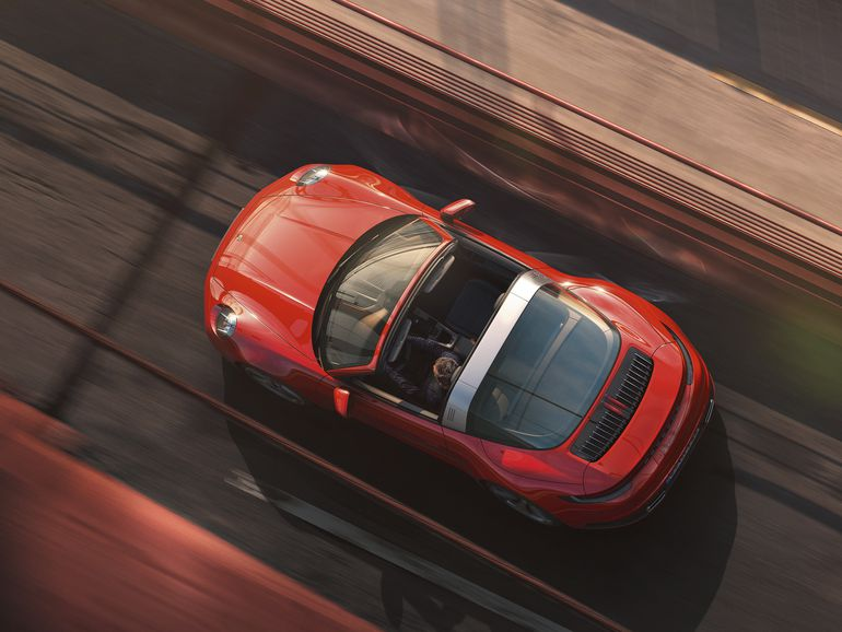 Nowe Porsche 911 Targa