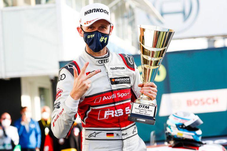Trzykrotny mistrz DTM, René Rast