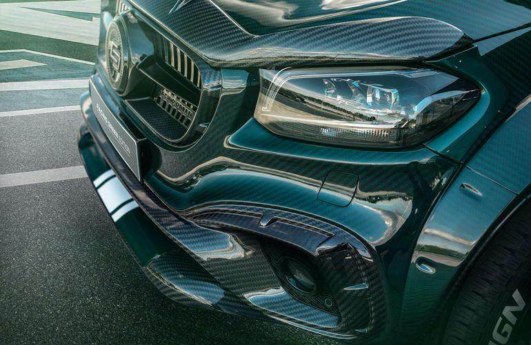 Mercedes Klasy X Racing Green